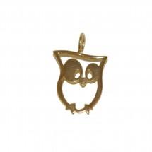 Pingente Coruja em Ouro Amarelo 18k - Patricia Centurion