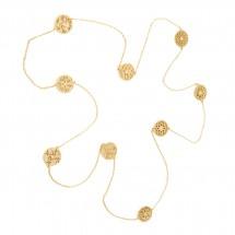 Gargantilha 9 Mandalas em Ouro amarelo 18k - Patricia Centurion