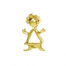 Pingente Ferdinanda Vazado em Ouro Amarelo 18k - Patricia Centurion